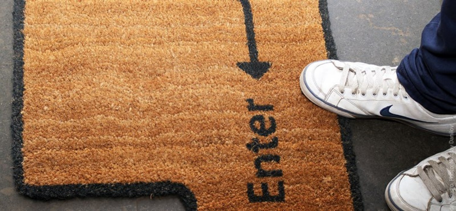 Important: Disinfect your doormat!