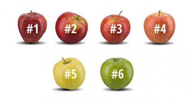 This Is The Apple Test. Choose one and we'll reveal your personality traits