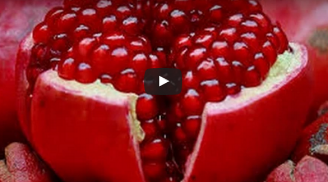 Do you like pomegranates? Hacking them apart is slow and messy... It's false!