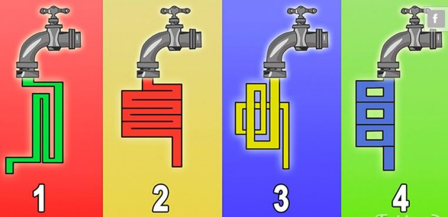 Through Which Tap The Water Will Flow Faster?