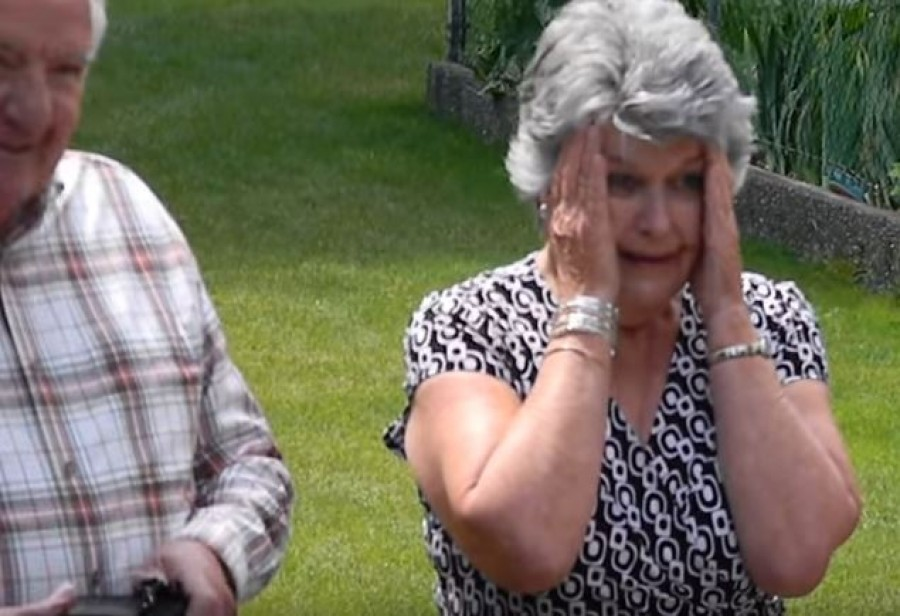 Girl Walks Out In Her Prom Dress, But When Her Grandma Realizes It Looks Familiar